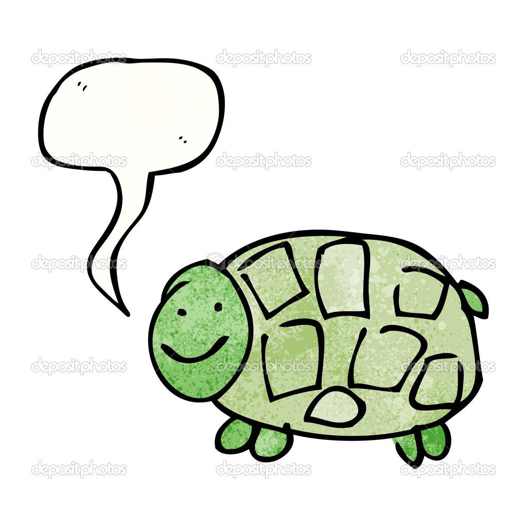 Kaplumbağa çizimi Stok Vektör Lineartestpilot 21107755