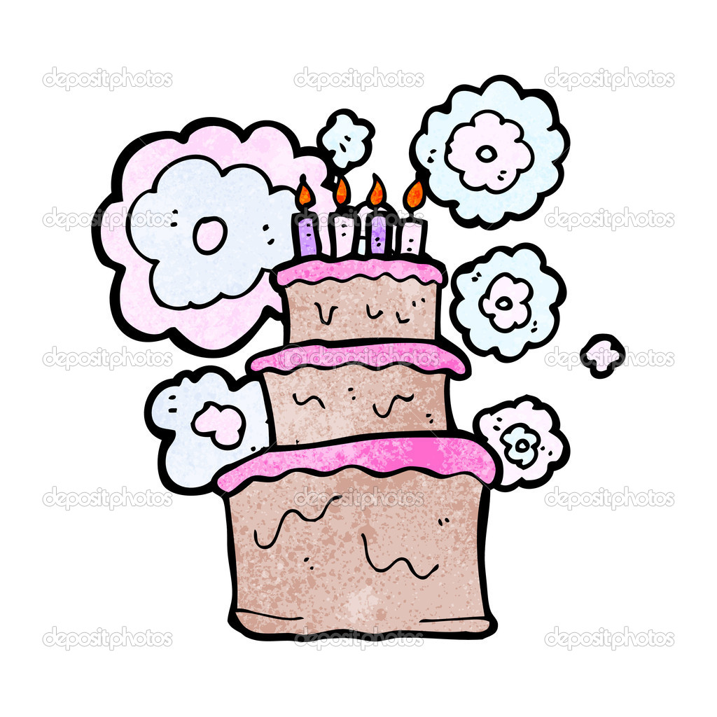 Huge birthday cake Stock Vector lineartestpilot 21152531