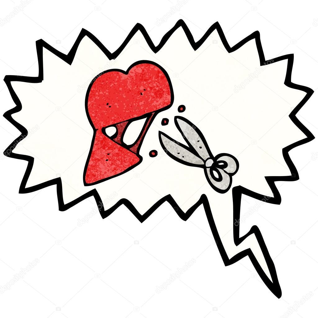 Symbol Zlomene Srdce Stock Vektor C Lineartestpilot 21167837