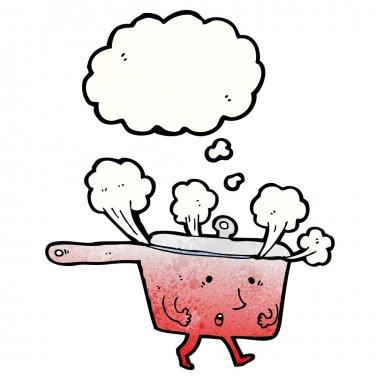 Hot saucepan