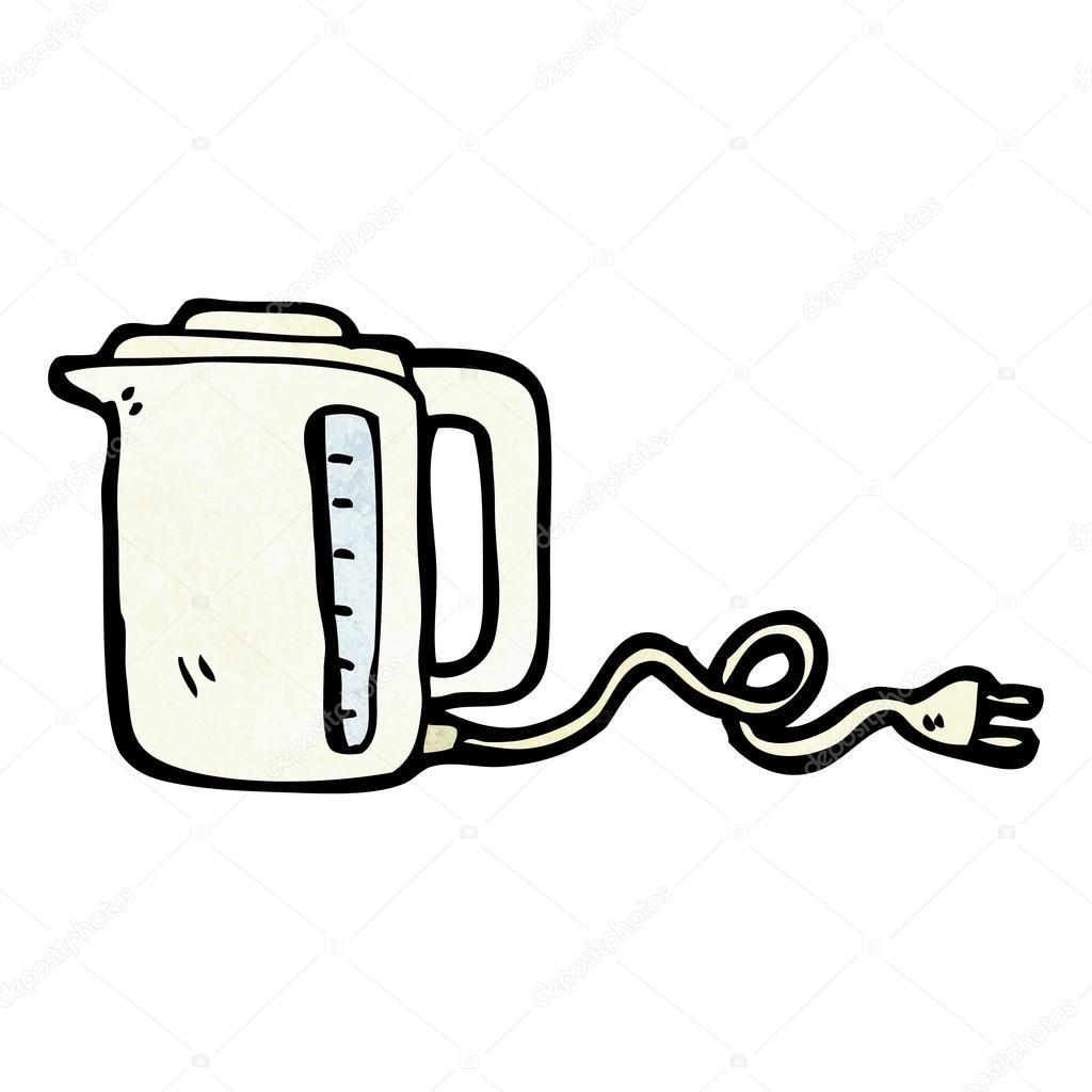 картинка электрический чайник раскраска комнате отведена