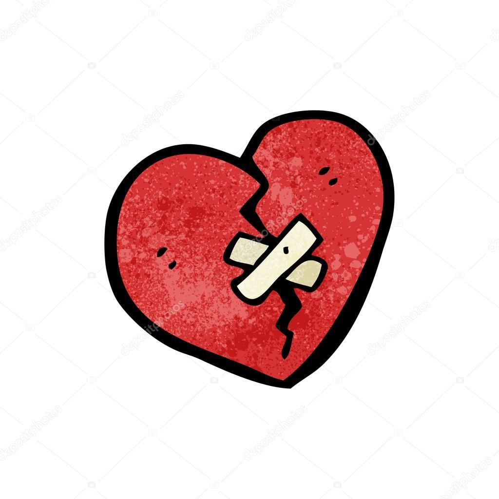 Imágenes Corazones Roto Corazón Roto Vector De Stock