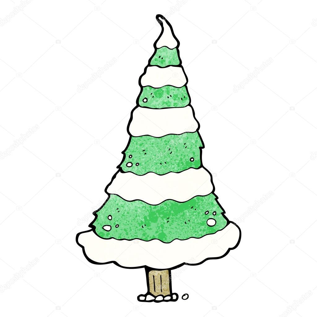 Desenho De árvore De Natal