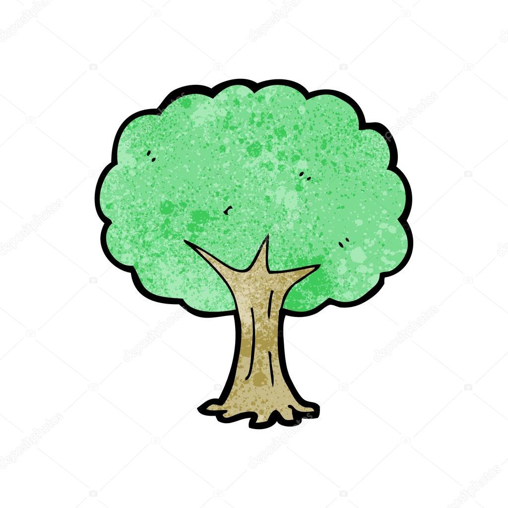oak tree cartoon stock vector lineartestpilot 21476747 rh depositphotos com Oak Tree Clip Art Oak Tree Wall