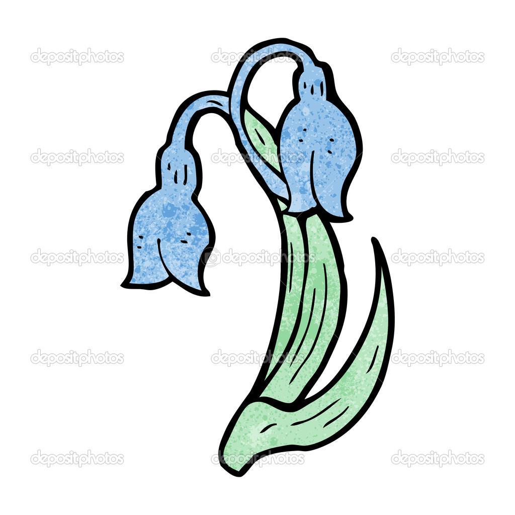 Spring Flowers Cartoon Stock Vector Lineartestpilot 21483567