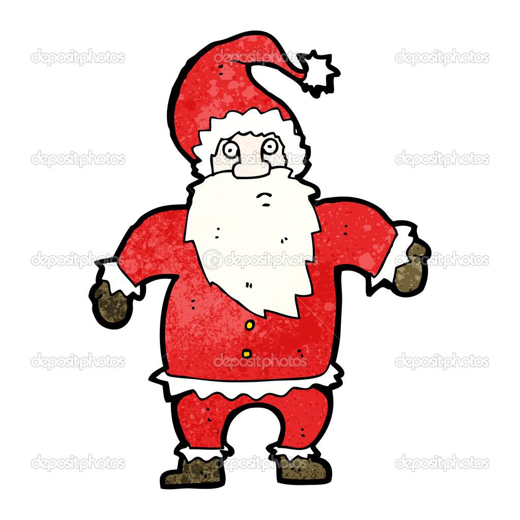 Funny Santa Claus Clipart