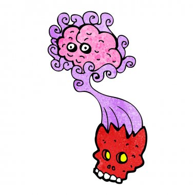 Red Skull And Brain