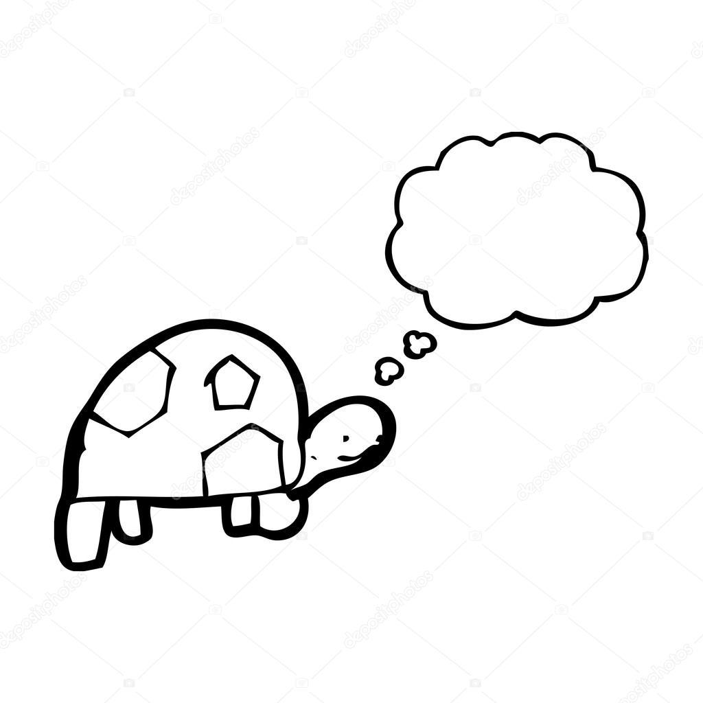 Kaplumbağa çizimi Stok Vektör Lineartestpilot 21569921