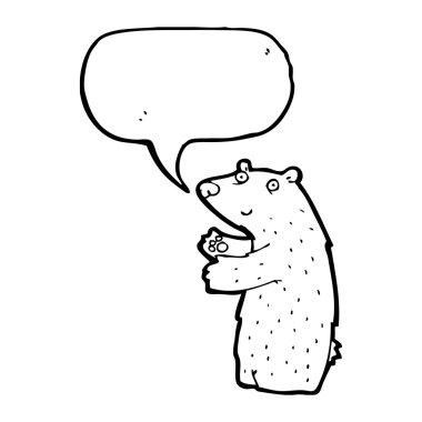 Talking Polar Bear