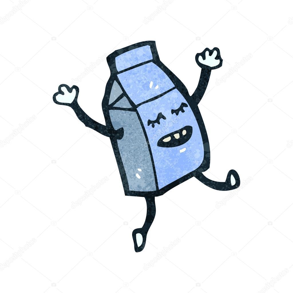 cartoon happy milk carton u2014 stock vector lineartestpilot 29038267