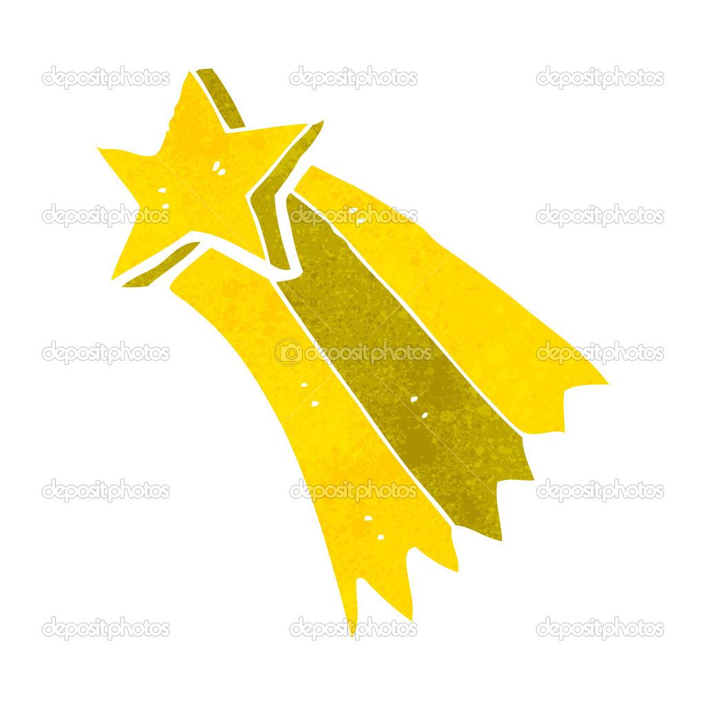 cartoon shooting star stock vector lineartestpilot 29100865 rh depositphotos com shooting star cartoon clip art shooting star cartoon black and white