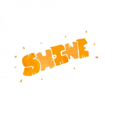 Shine cartoon symbol