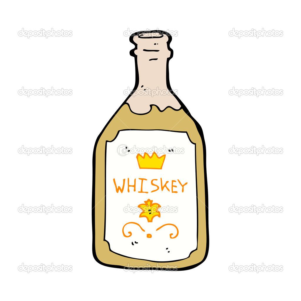 Lahev Whisky Kresleny Stock Vektor C Lineartestpilot 38151979