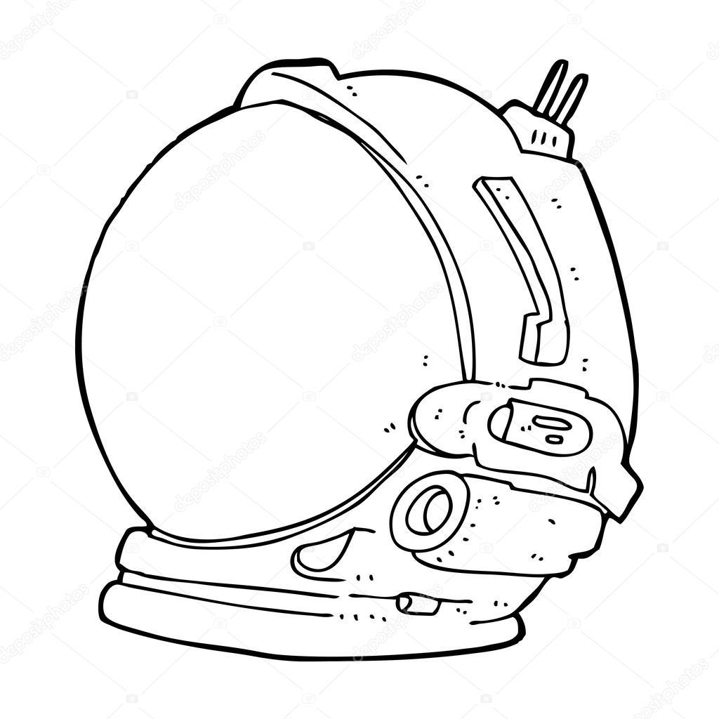 Cartoon Astronaut Helmet U2014 Stock Vector U00a9 Lineartestpilot #38438565