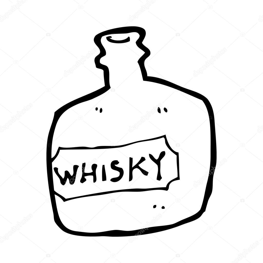 Kresleny Whisky Sklenice Stock Vektor C Lineartestpilot 38438583