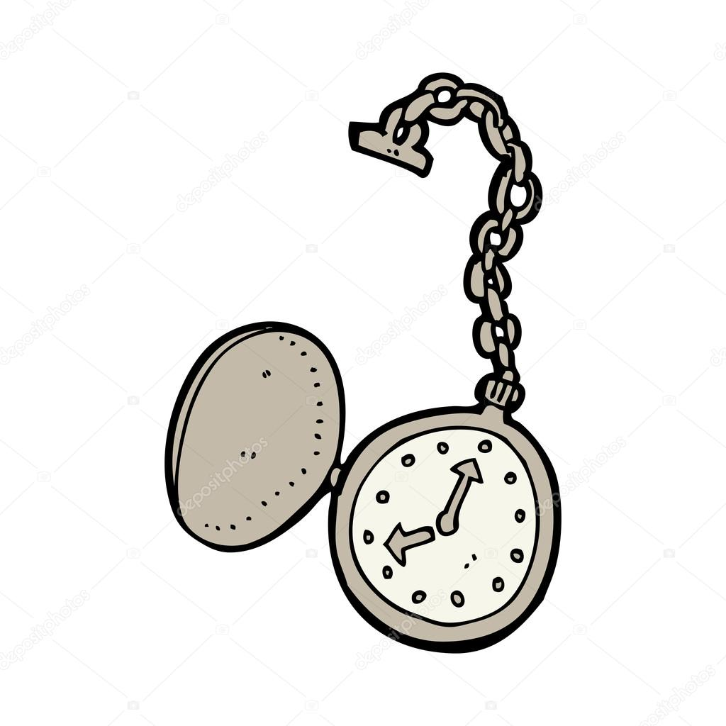 Tecknad klocka