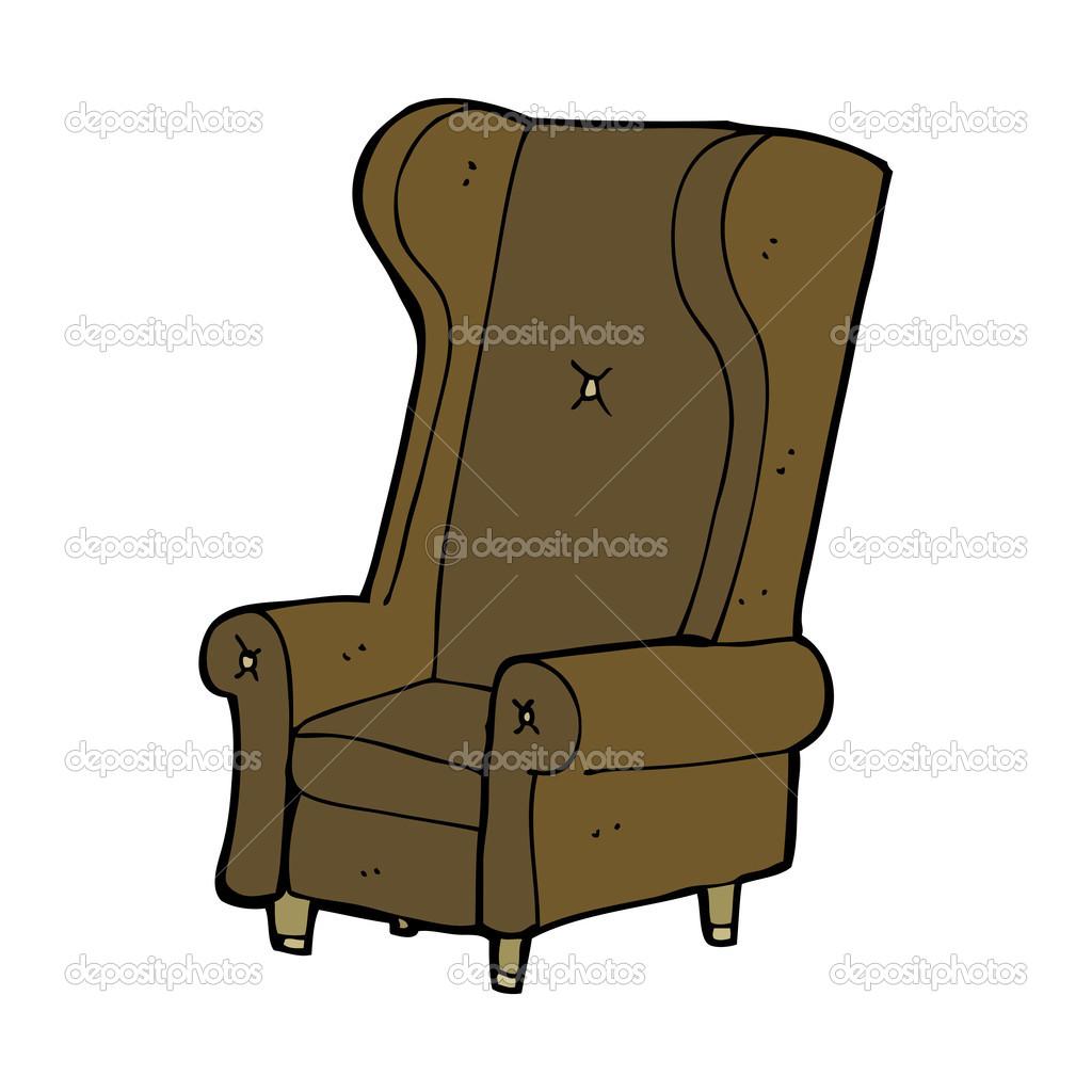 Cartoon Old Chair Stock Vector C Lineartestpilot 44405233