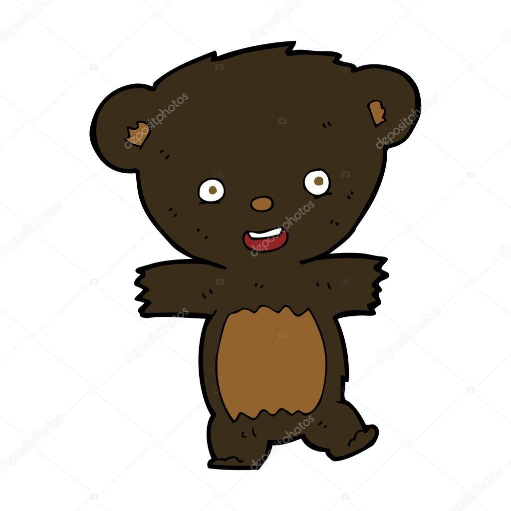 Astronauta orso teddy cartone animato clip art k