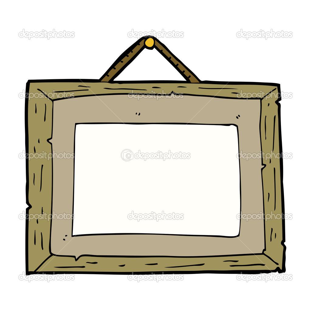 Cartoon-Bilderrahmen — Stockvektor © lineartestpilot #46953469