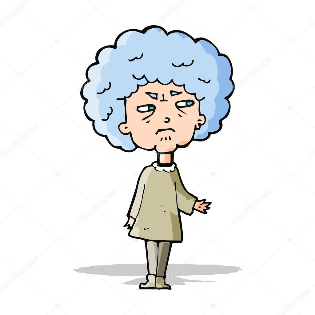 cartoon old lady stock vector lineartestpilot 49395547 rh depositphotos com old lady birthday cartoon images old lady cartoon images free download