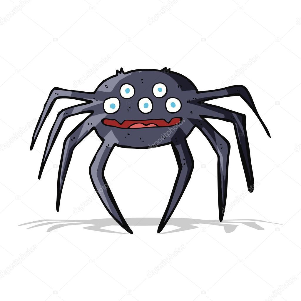 Dibujos Aranas Halloween Dibujos Animados Arana Halloween - Dibujos-araas-halloween