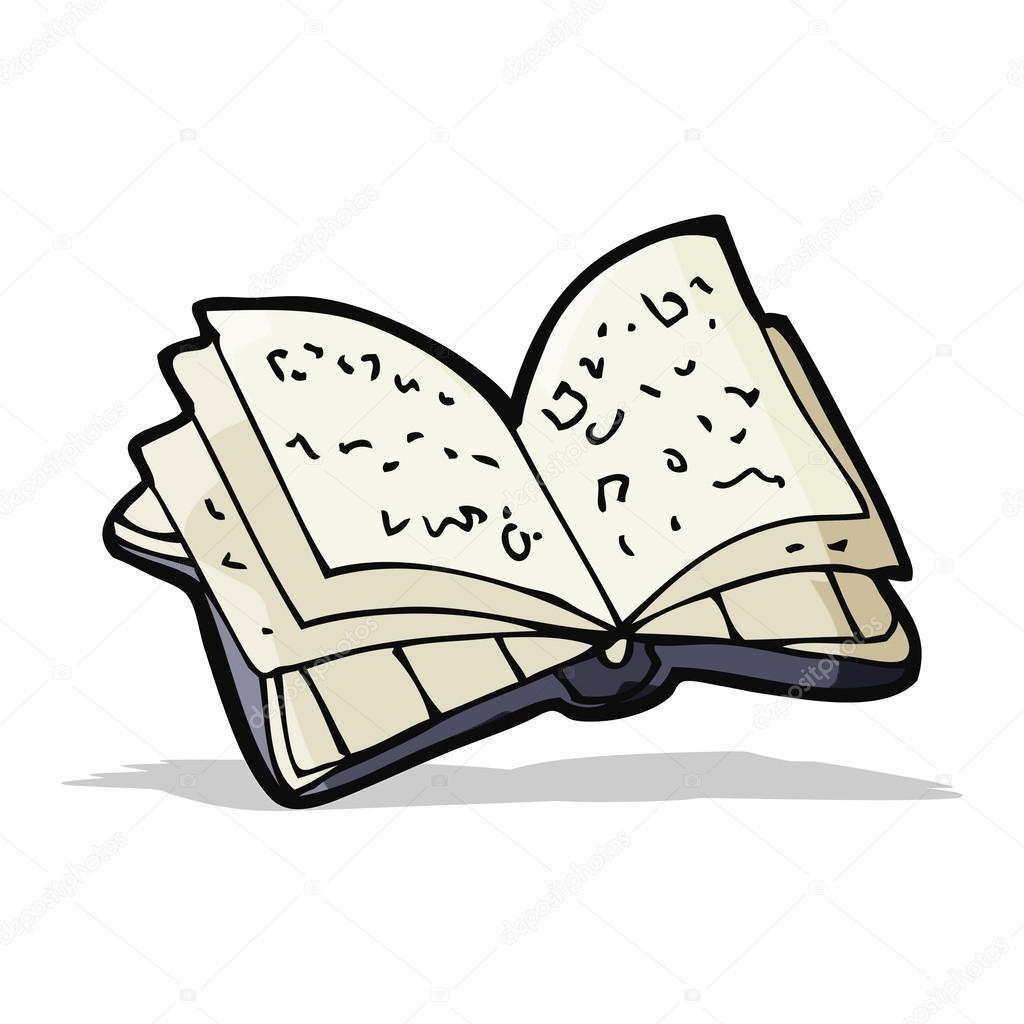 dibujo animado libro abierto animado dibujo libro abierto vector de lineartestpilot vector de lineartestpilot