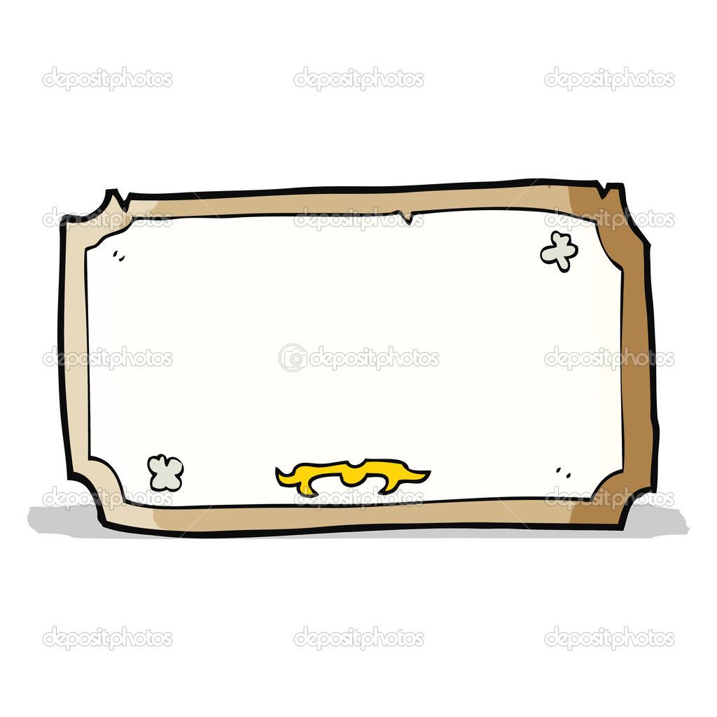 Cartoon alte Rahmen — Stockvektor © lineartestpilot #49556191