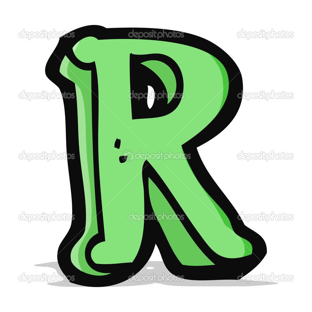 Imágenes: la letra r animada dibujos animados de letra r