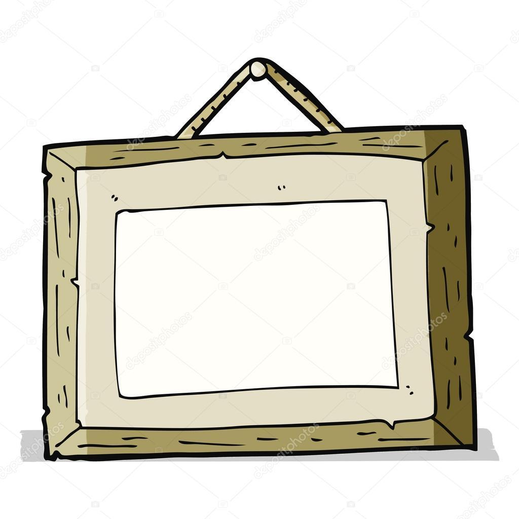 Cartoon-Bilderrahmen — Stockvektor © lineartestpilot #49557795