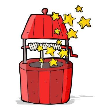 cartoon wishing well