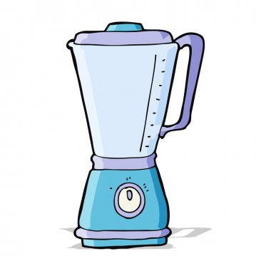 cartoon kitchen blender
