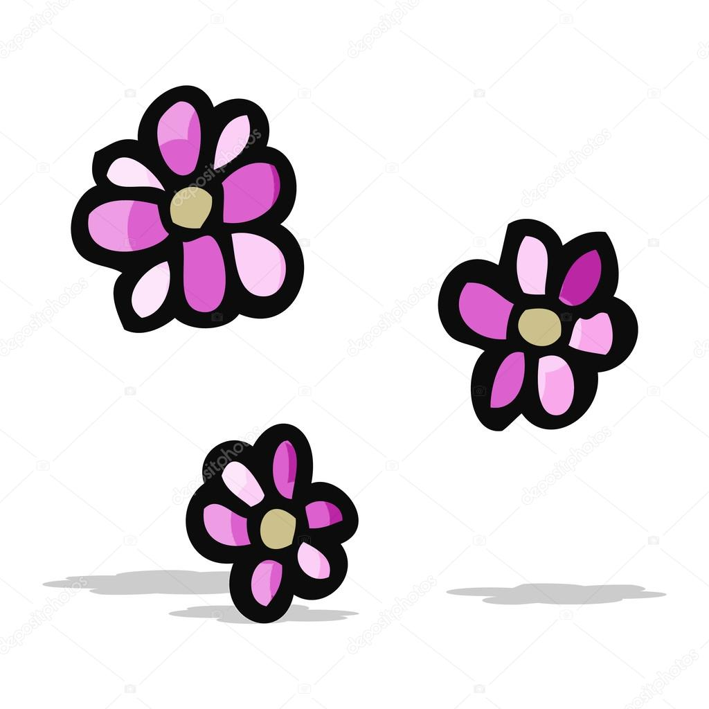 Kreslene Kvetiny Stock Vektor C Lineartestpilot 50129947