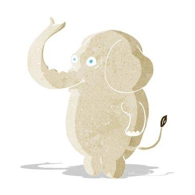 """Картина, постер, плакат, фотообои """"карикатурный смешной слон """", артикул 51741485"""