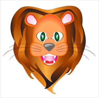 Lion is a portrait