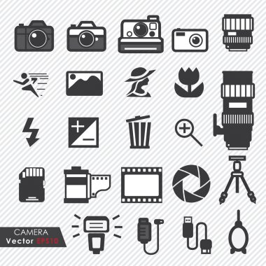 Photography camera lens and accessories