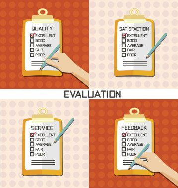 Set of Evaluation approve quality check