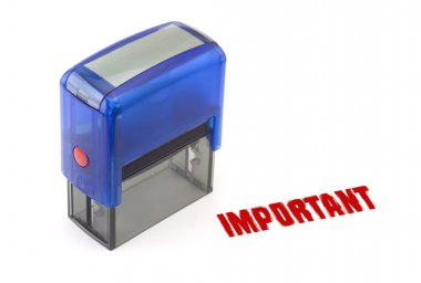 Important stamp