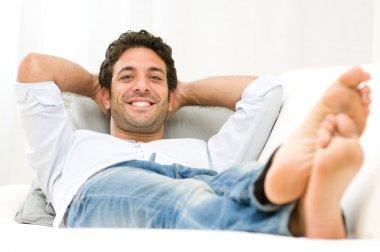 Happy relax