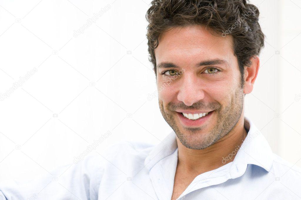 Smiling happy guy