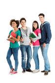 Fotografie Portrait Of Multi Ethnic Students