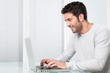 Surfing the net at home