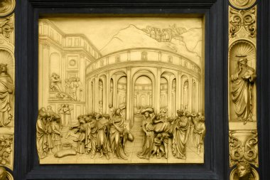Joseph - bas-relief on Gates of Paradise, Florence