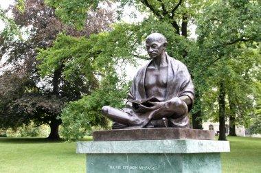 Statue of Mahatma Gandhi in Geneva, Switzerland