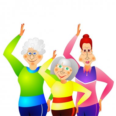 Gymnastics for senior women