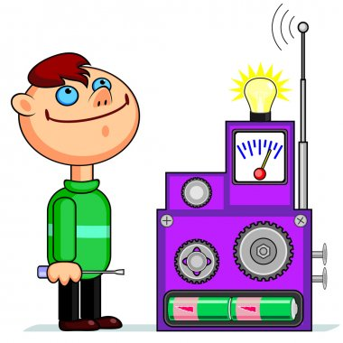 Young inventor