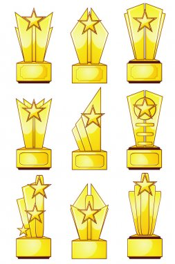 Nine golden awards