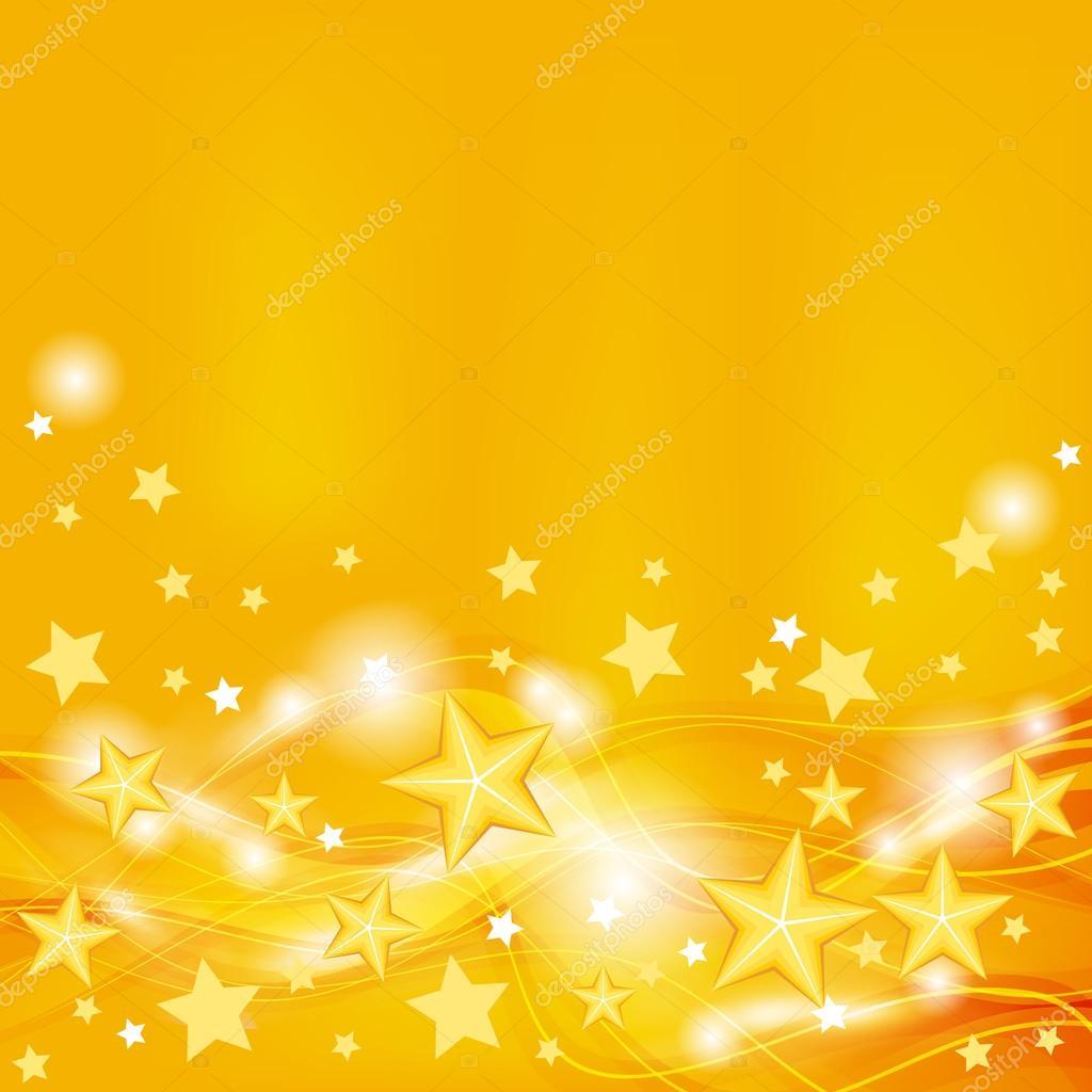 ОРАНЖЕВЫЙ ФОН Depositphotos_31861777-stock-illustration-background-with-stars
