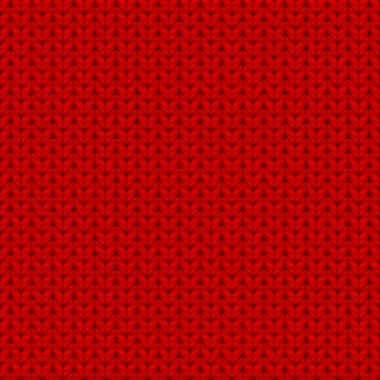 Red seamless knitted texture