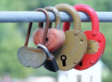 Locks, objects, tradition, closed, hanging
