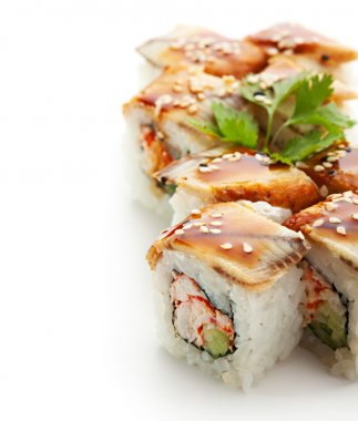 Roll with Crab Meat